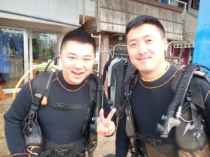 沖縄 体験ダイビング AM集合写真
