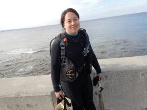 沖縄 ダイビング 砂辺 体験ダイビング アルファダイブ