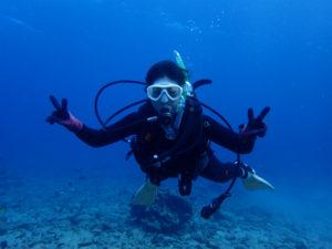 沖縄 北谷 砂辺 ダイビング 講習 PADI OWDC OW講習