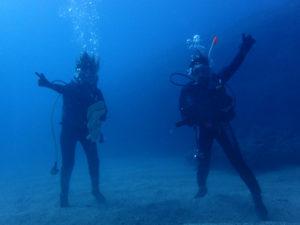沖縄 近海 赤立標 FUNダイビング ダイビング