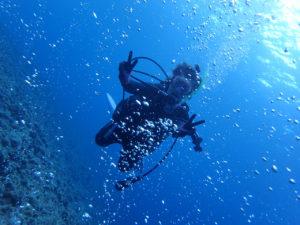 沖縄 万座 恩納村 ドリームホール ダイビング ファンダイビング