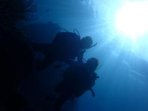 沖縄 北谷 砂辺 ダイビング ファンダイビング ビーチダイビング FUNダイビング