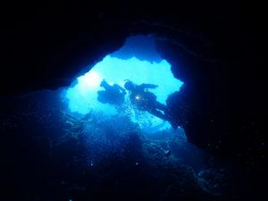 沖縄 万座 恩納村 ダイビング ファンダイビング ボートダイビング FUNダイビング