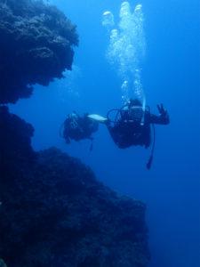 沖縄 北谷 砂辺 ダイビング ファンダイビング ビーチダイビング