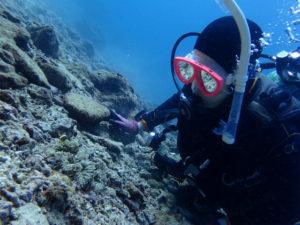 沖縄 砂辺 北谷 ビーチダイビング ダイビング ファンダイビング