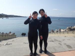 沖縄 崎本部 ゴリラチョップ 体験ダイビング ダイビング ビーチダイビング