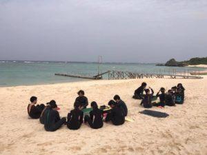 沖縄 ビーチ シュノーケル ニライビーチ 珊瑚 サンゴ