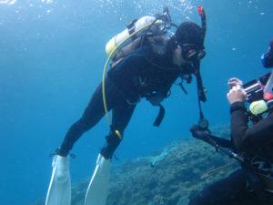 沖縄 ダイビング PADI OWD講習