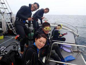 沖縄 慶良間 チービシ ダイビング ファンダイビング ボートダイビング