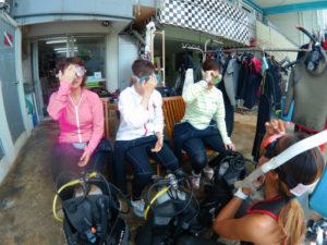 沖縄 砂辺 北谷 ダイビング 体験ダイビング ビーチダイビング
