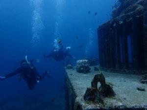 沖縄 北谷 嘉手納 近海 沖縄本島 ダイビング ファンダイビング ボートダイビング