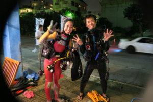 沖縄 北谷 砂辺 宮城海岸 サンゴ サンゴ産卵 2017 ビーチダイビング ダイビング