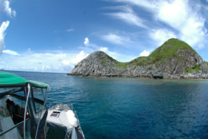 沖縄 ダイビング 渡名喜島 FUNダイビング 自社船