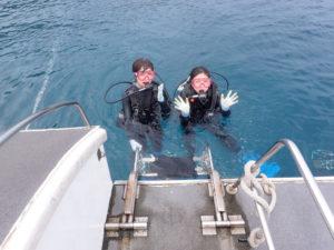 沖縄 読谷村 残波 ダイビング ボートダイビング