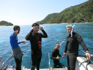 沖縄 慶良間 慶良間諸島 ダイビング ボートダイビング 体験ダイビング 自社船