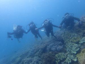 沖縄 北谷 砂辺 宮城海岸 ビーチダイビング 体験ダイビング