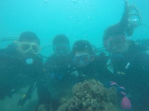 沖縄 沖縄本島 那覇 那覇シーサイドパーク ビーチダイビング ダイビング 体験ダイビング ファンダイビング