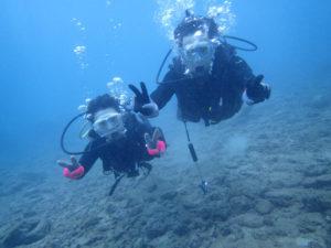 沖縄 ダイビング 砂辺 体験ダイビング FUNダイビング