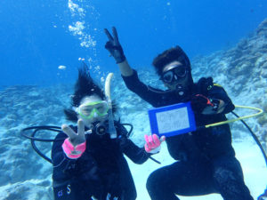 沖縄 慶良間 慶良間諸島 ダイビング ボートダイビング PADI OW講習 ライセンス