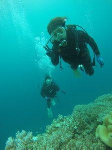 沖縄 ダイビング 砂辺 慶良間 体験ダイビング