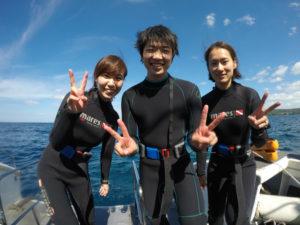 沖縄 読谷村 残波 沖縄本島 西海岸 ダイビング ボートダイビング ファンダイビング