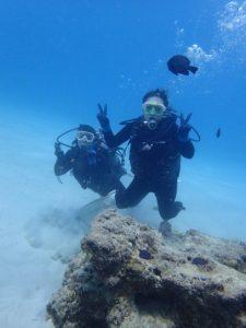 沖縄 ダイビング ビーチ 体験ダイビング ゴリラチョップ
