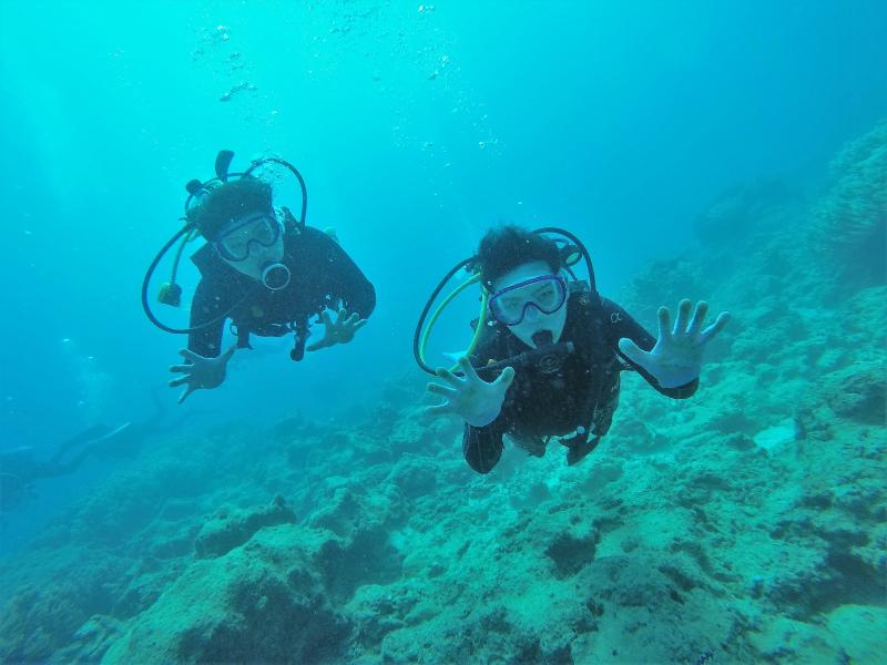 沖縄 沖縄本島 読谷沖 嘉手納沖 近海 ボートダイビング ファンダイビング 体験ダイビング ダイビング 自社船