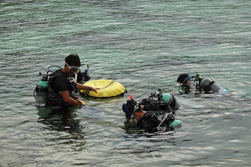 沖縄 PADI OW講習 OW ダイバー ダイビング