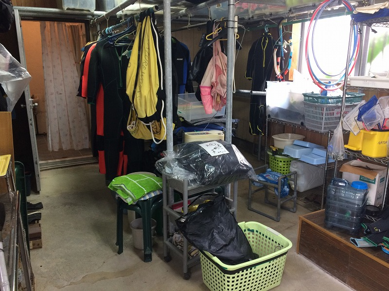 沖縄 ダイビング ネイチャーワークス 自然観察 修学旅行