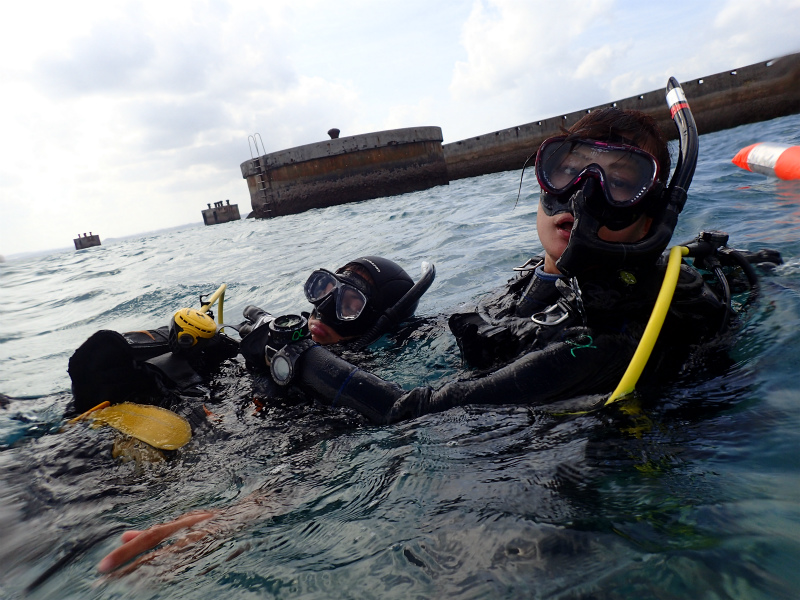 沖縄 ダイビング レスキュー 講習