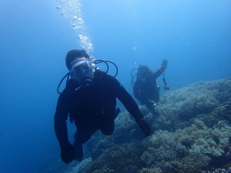 沖縄 読谷沖 嘉手納沖 ボートダイビング ダイビング ファンダイビング 自社船 体験ダイビング