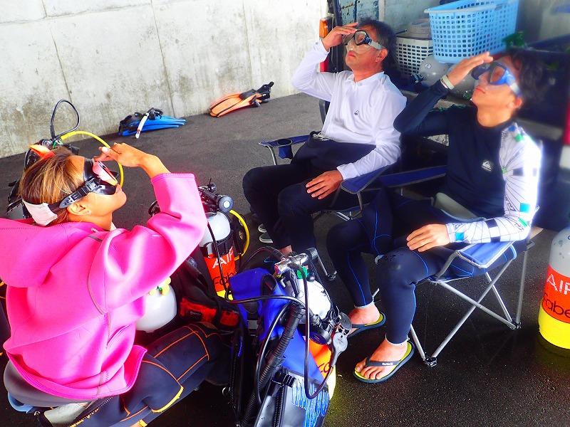 沖縄 那覇 NSP ビーチダイビング 体験ダイビング ダイビング