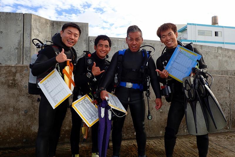 沖縄 ダイビング リーフチェック ニライ会 砂辺