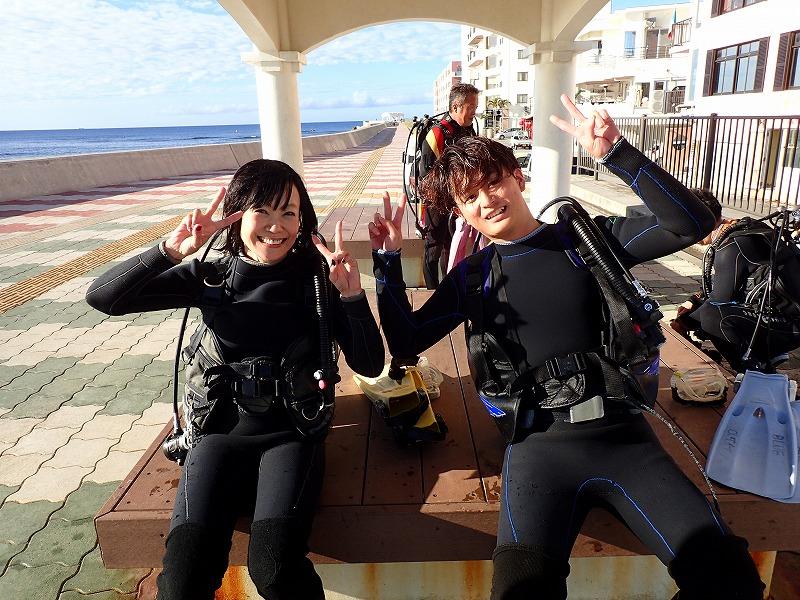 沖縄 北谷 砂辺 宮城海岸 ビーチダイビング ダイビング ファンダイビング 体験ダイビング