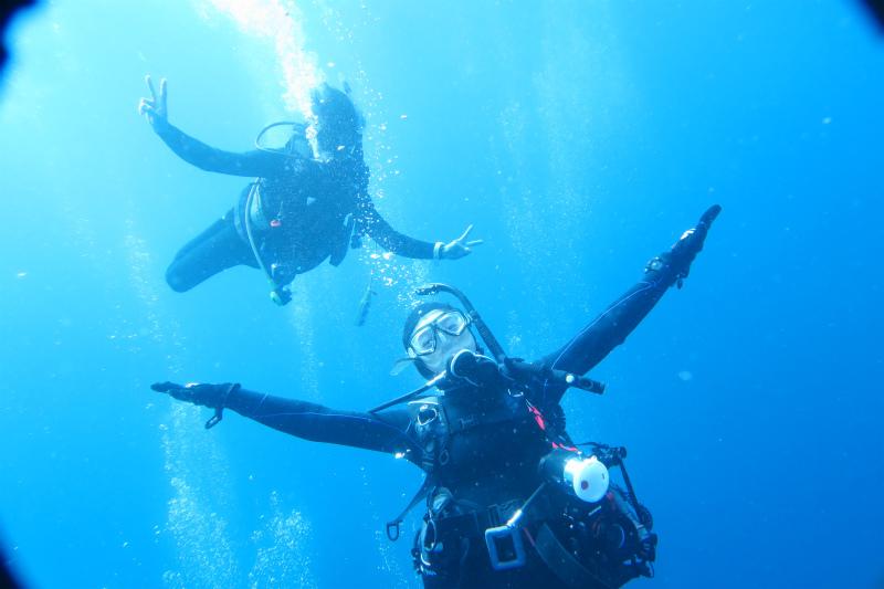 沖縄 ダイビング ケラマ FUNダイビング ドリフト 体験ダイビング