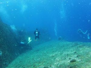 沖縄 与那国島 西崎 ハンマー 海底遺跡 ダイビング ファンダイビング ボートダイビング