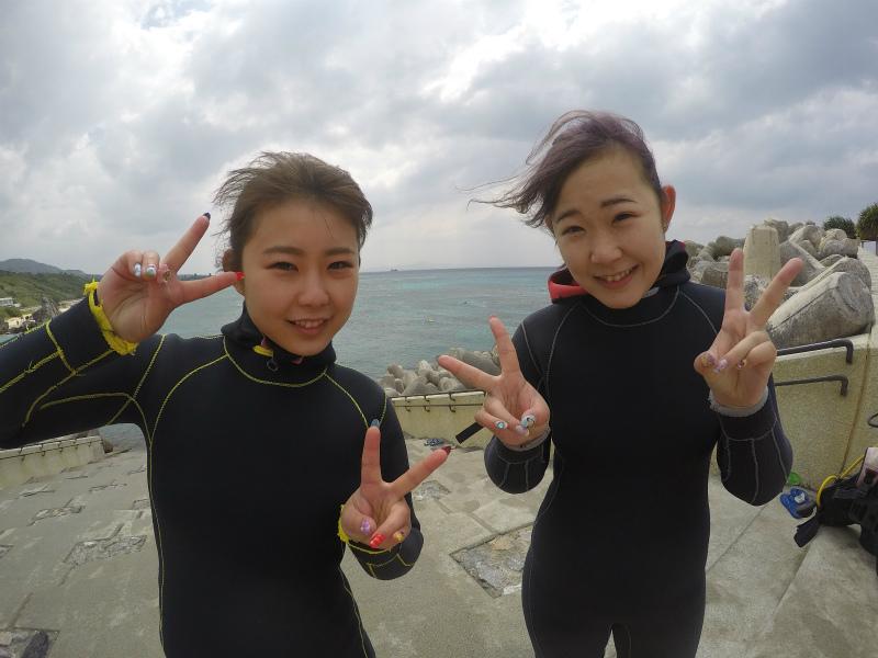 沖縄 ダイビング ゴリラチョップ 体験ダイビング