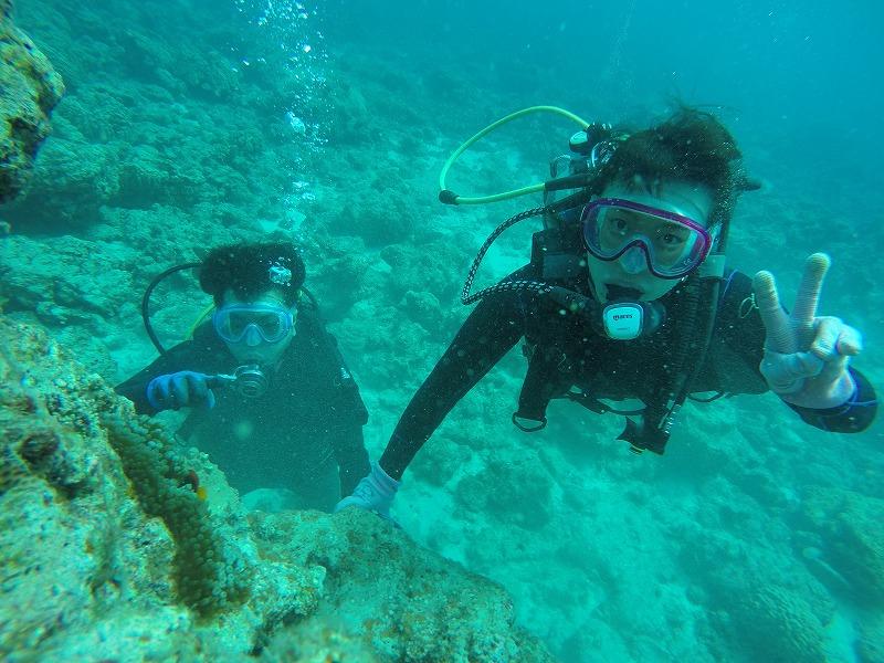 沖縄 ダイビング FUNダイビング 体験ダイビング 慶良間