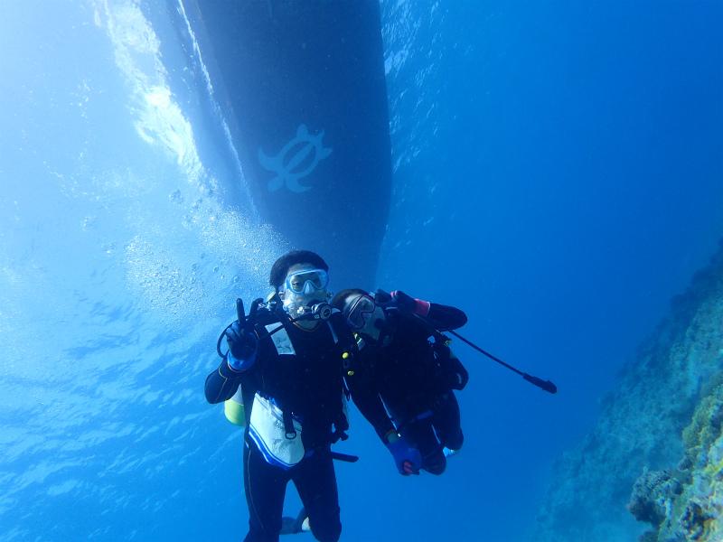 沖縄 ナガンヌ チービシ ダイビング 自社船