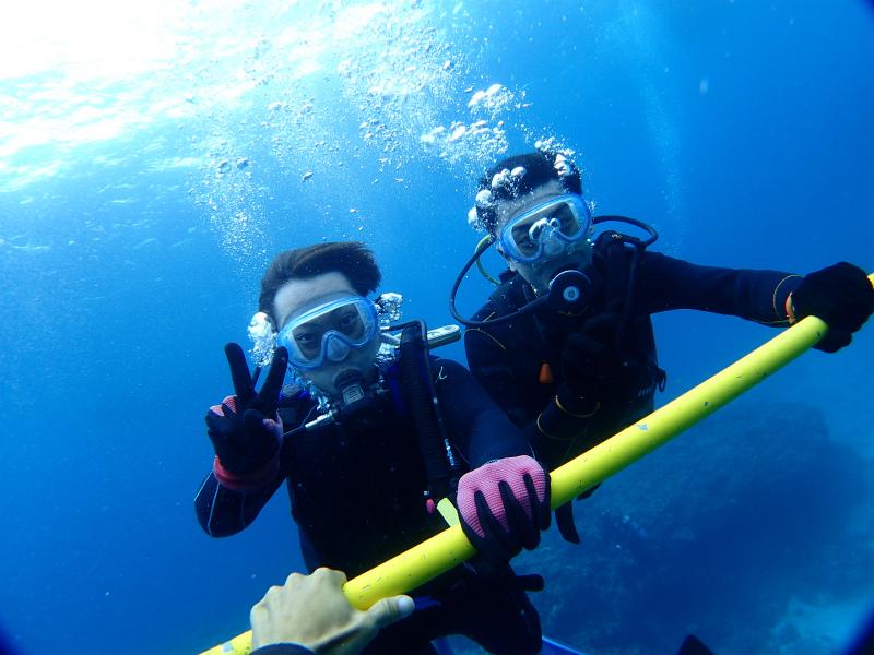 沖縄 チービシ ダイビング ボートダイビング 自社船