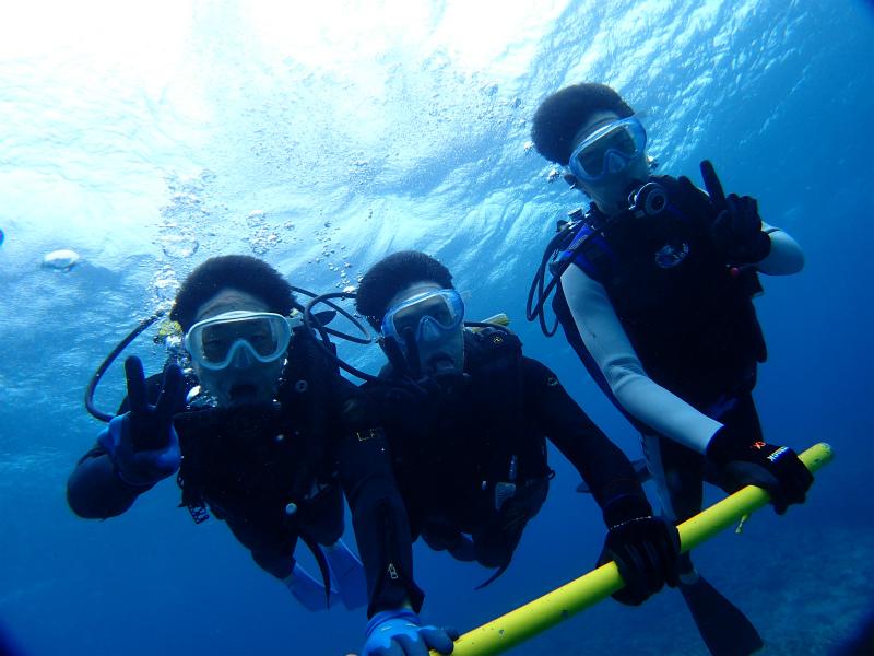 沖縄 チービシ ナガンヌ ダイビング ボートダイビング 自社船