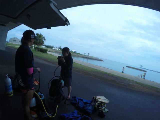 沖縄 那覇 うみそら公園 ビーチ ダイビング PADI 講習 OW