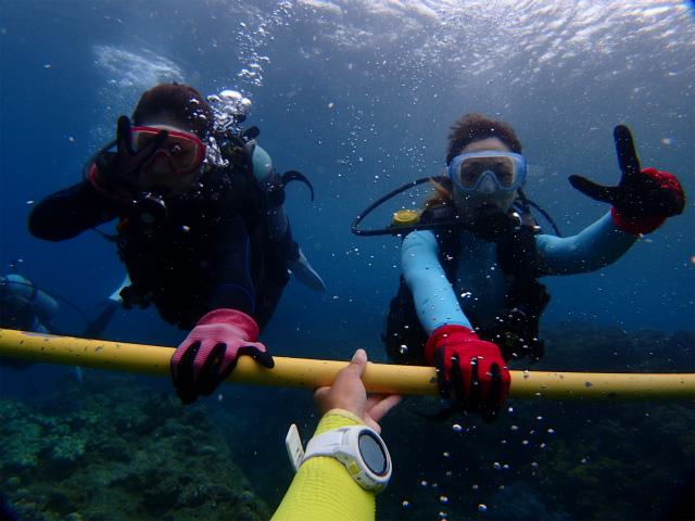 沖縄 砂辺 北谷 宮城海岸 体験ダイビング ダイビング ビーチダイビング