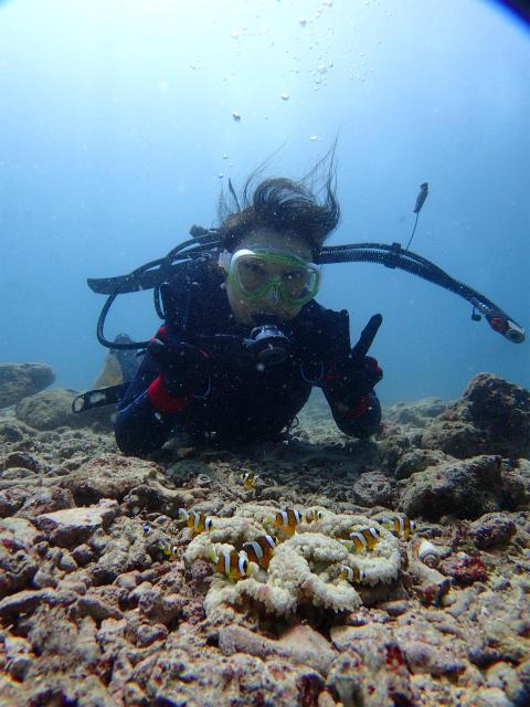 沖縄 砂辺 宮城海岸 砂辺 ダイビング ビーチダイビング 体験ダイビング