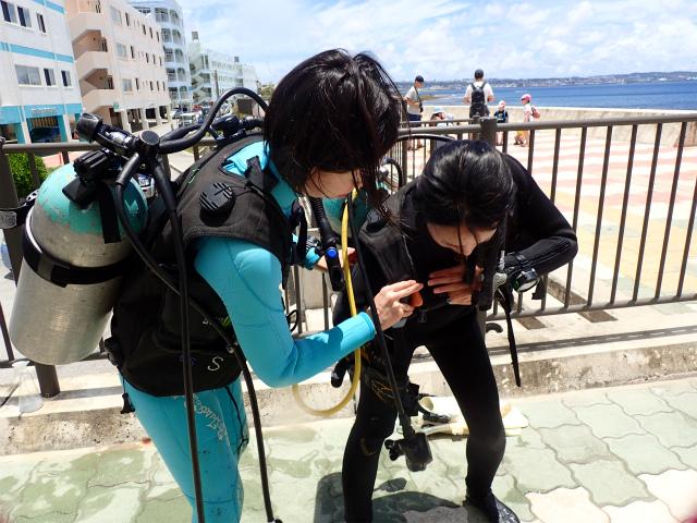沖縄 砂辺 宮城海岸 ダイビング ビーチダイビング