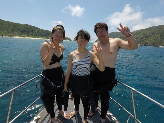 沖縄 慶良間 FUNダイビング 体験ダイビング