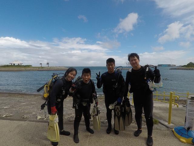 沖縄 ダイビング ビーチ体験ダイビング