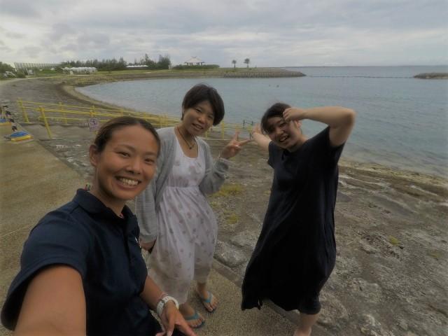 沖縄 那覇 うみそら公園 ダイビング ビーチダイビング