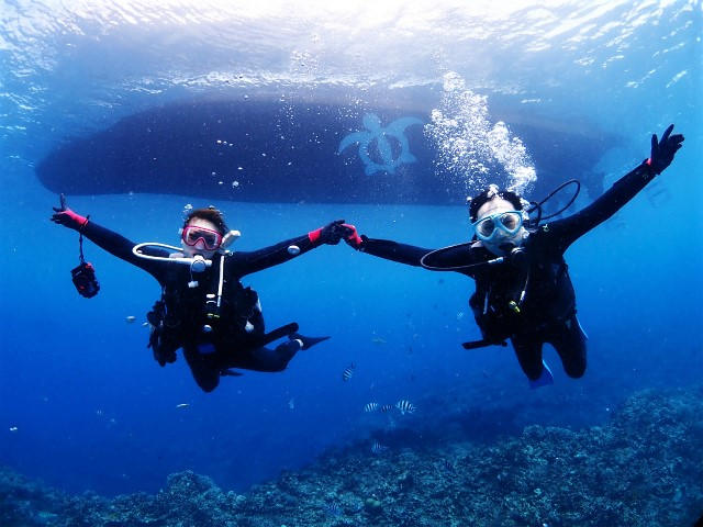沖縄 慶良間 慶良間諸島 ダイビング ボートダイビング 体験ダイビング
