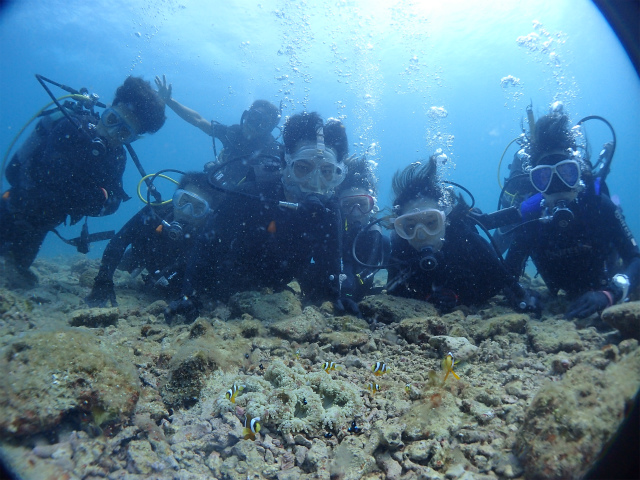 沖縄 北谷 砂辺 ダイビング ビーチダイビング 体験ダイビング
